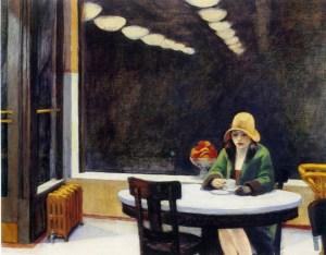 hopper_-_Mujer_tomando_cafe