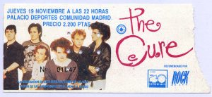The Cure Madrid